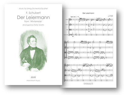 Der Leiermann from Winterreise - String Orchestra-Quartet