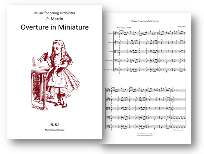 Overture in Miniature - String Orchestra