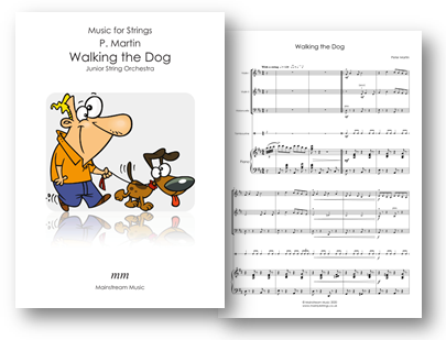 Walking the Dog - Junior Mixed Strings and Piano